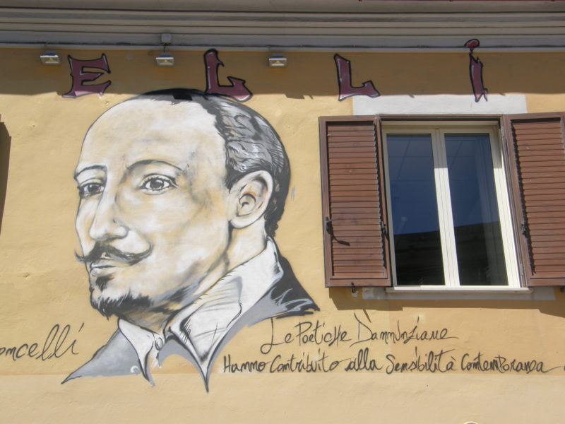 Gabriele D'Annunzio - byens berømte forfatter