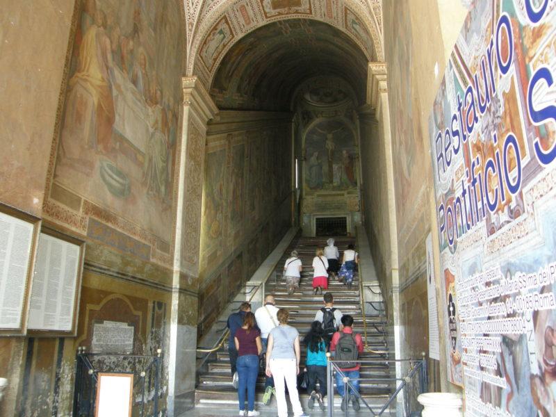Den Hellige Trappe - Scala Santa