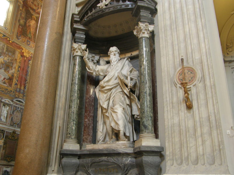 Statuen af Paulus