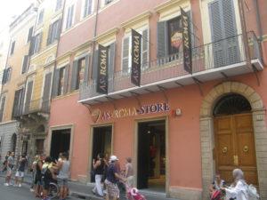 AS Roma Store på Corsoen
