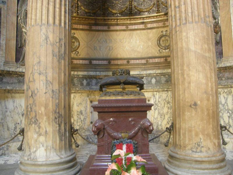 Gravsted for Konge Umberto I af Italien