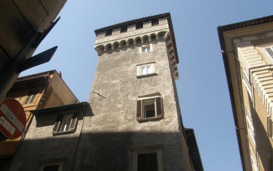 Tor Millina - middelaldertårn i Rom