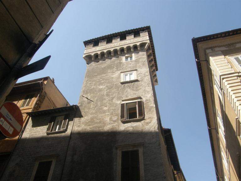 Tor Millina – middelaldertårn i Rom