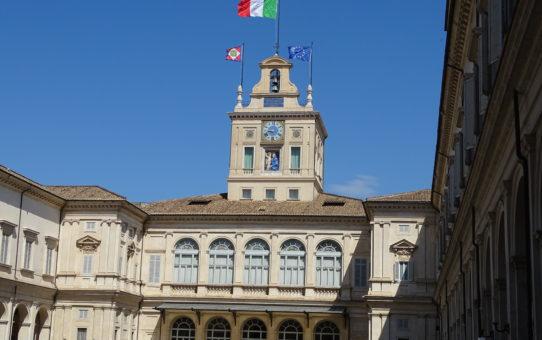 På besøg i Palazzo Quirinale i Rom