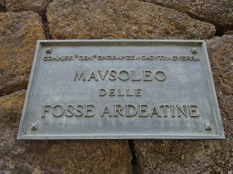 Mausoleo Fosse Ardeatine