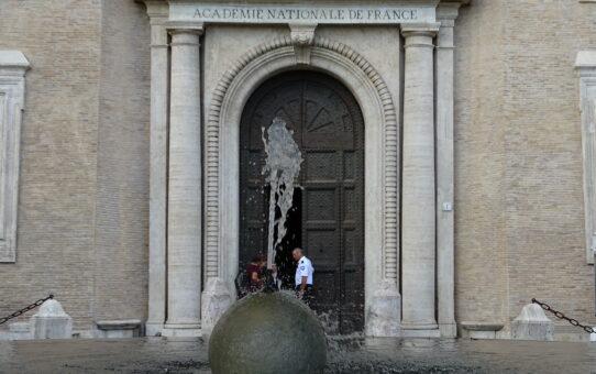 Kanonkuglen ved Villa Medici