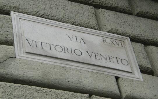 Det søde liv i Via Vittorio Veneto i Rom
