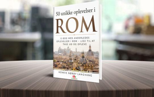 Ny e-bog: 50 unikke oplevelser i Rom