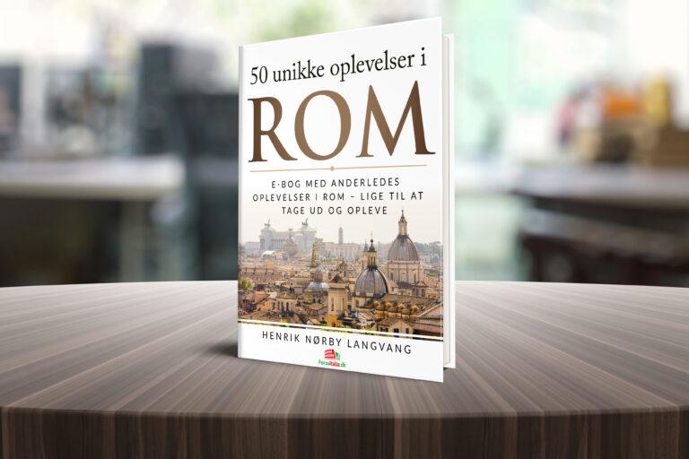Køb min e-bog: 50 unikke oplevelser i Rom