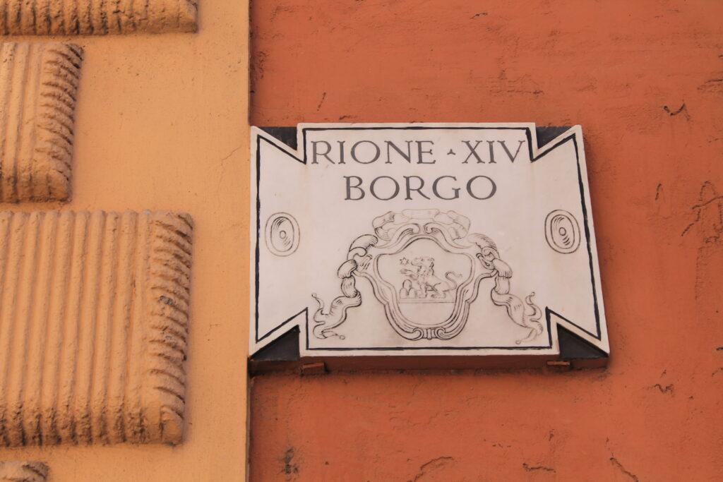 Rione XIV Borgo