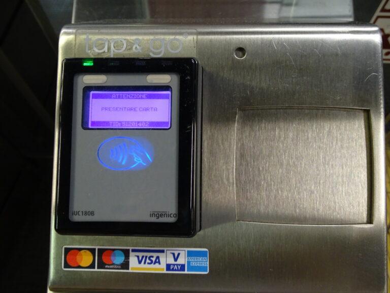 Betal med dit VISA-kort i Roms metro