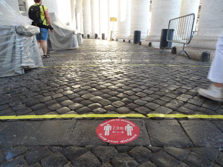 Opdatering på Coronavirus i Rom og Italien