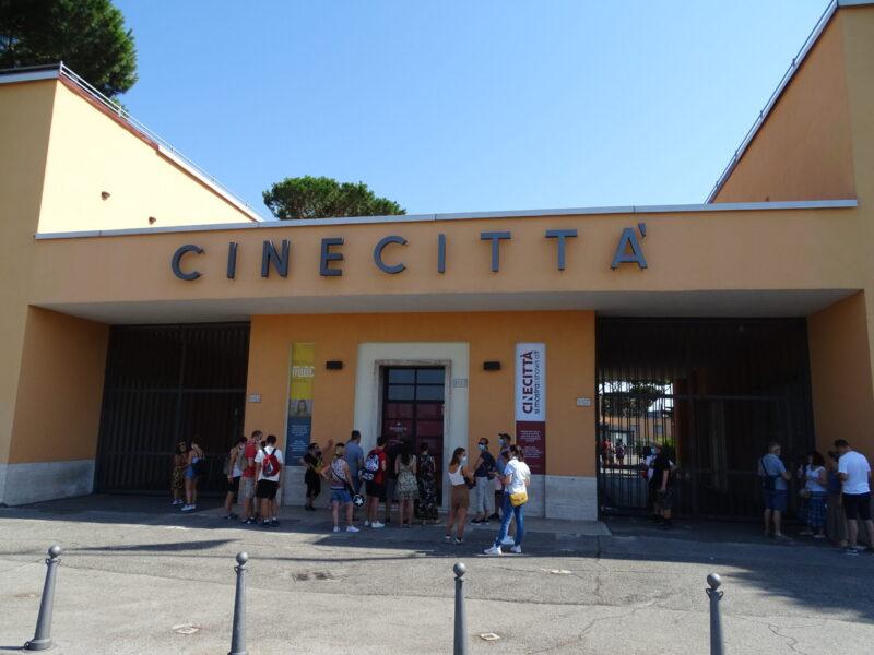 Filmbyen Cinecittà i Rom
