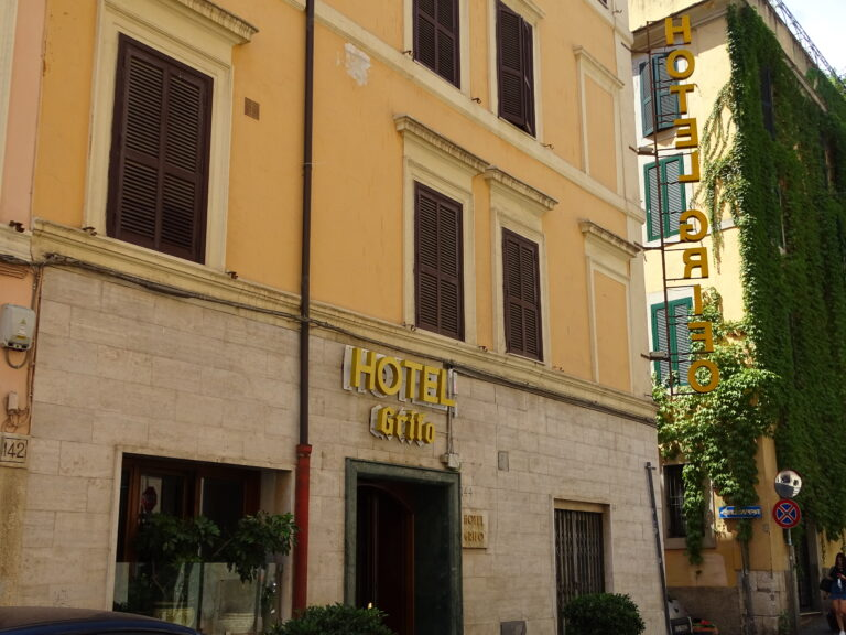 Hotel Grifo i Rom