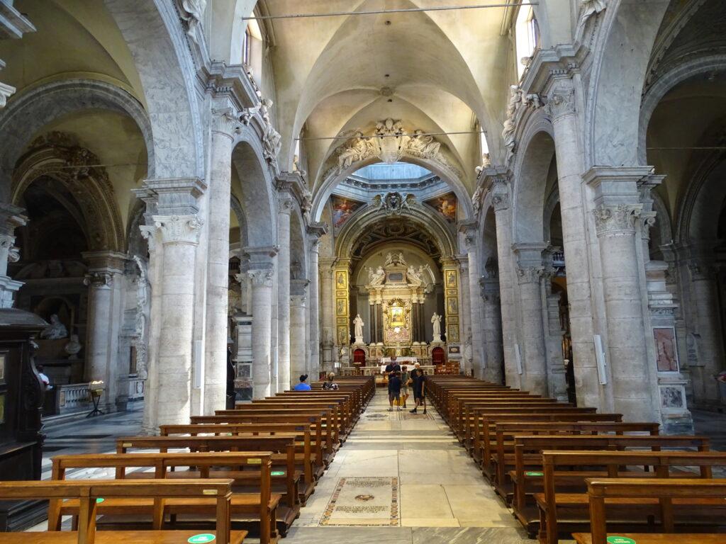 Santa Maria del Popolo på Piazza del Popolo i Rom