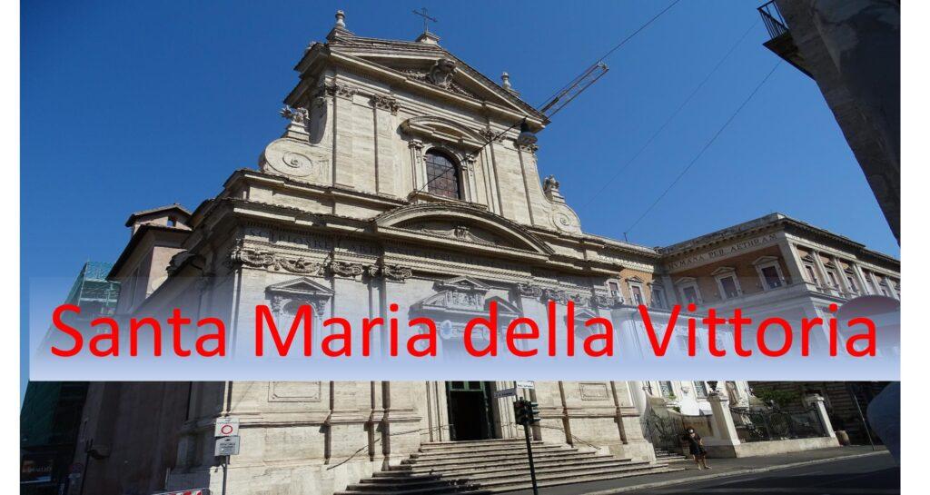 Kirken Santa Maria della Vittoria i Rom