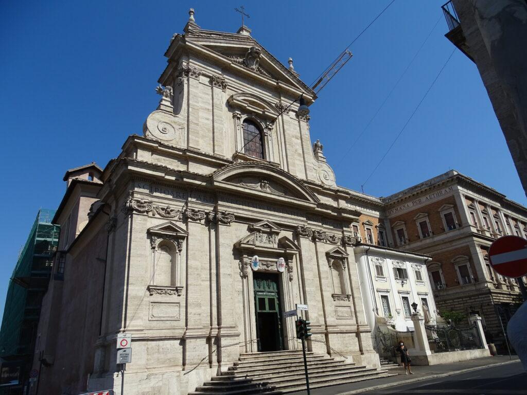 Santa Maria della Vittoria kirke i Rom