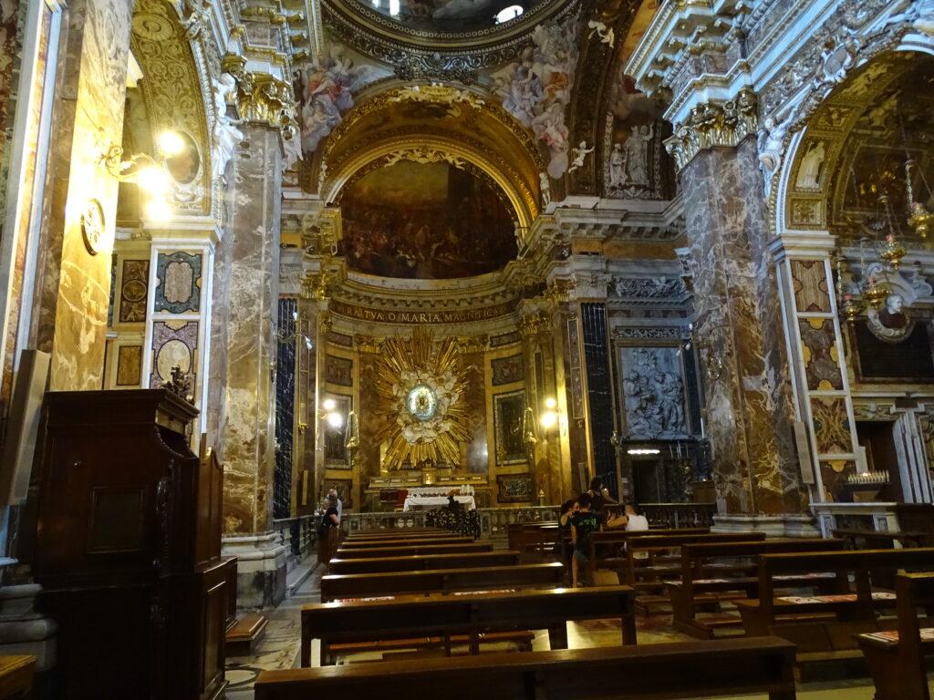 Kirken i Rom kendt fra Dan Browns bog Engle og Dæmoner med Tom Hanks