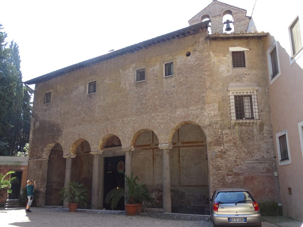 Rundkirken Santo Stefano Rotondo al Celio i Rom