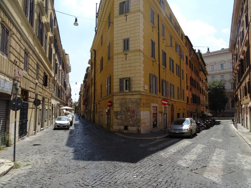 De mest hyggelige gader i det charmerende Rom