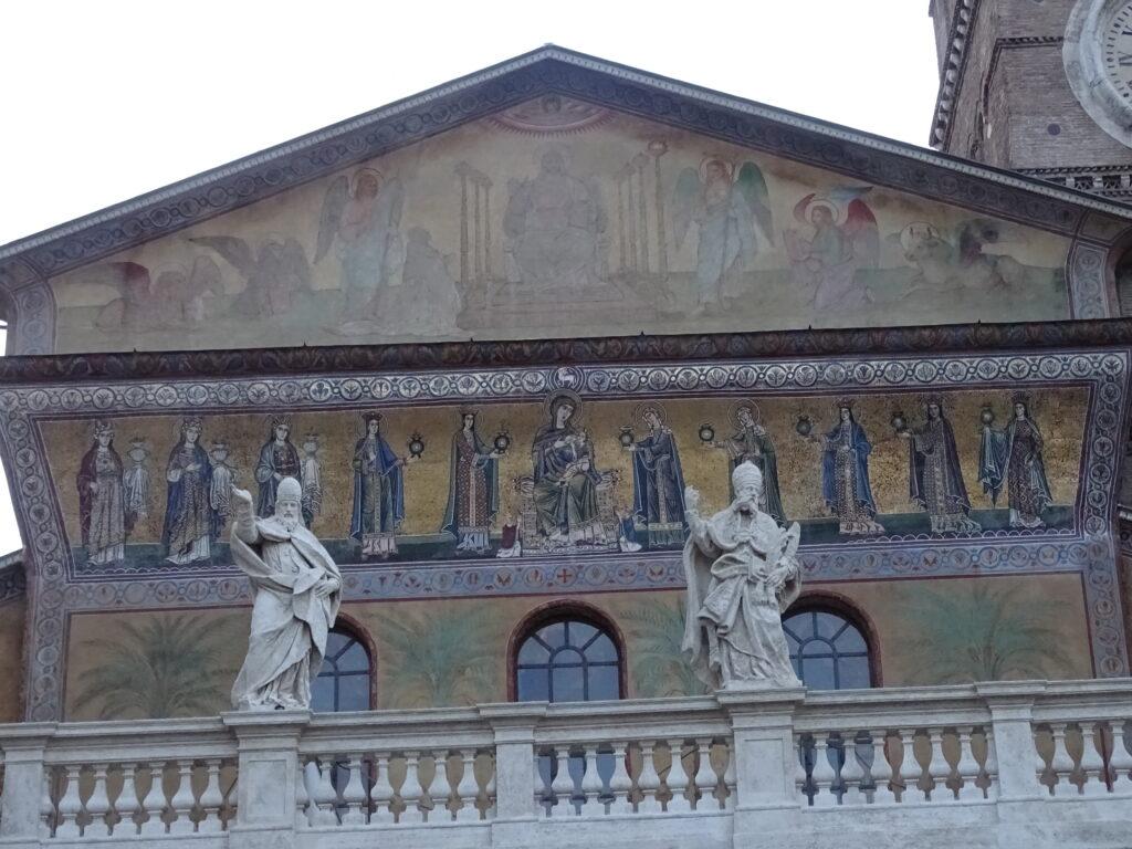 Kirker i Trastevere i Rom