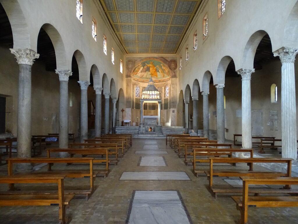 Det enkelte kirkerum i San Giorgio in Velabro