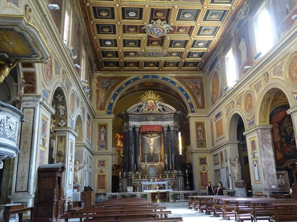 Kirker i det centrale Rom
